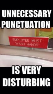 quotation punctuation marks