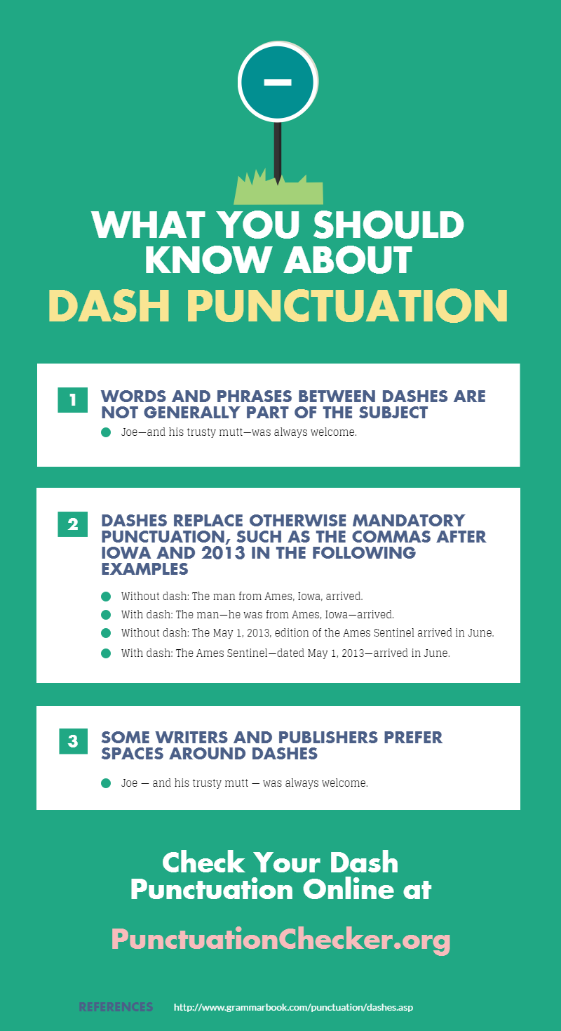 what you should know about dash punctuation