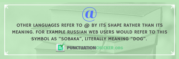 interesting punctuation fact