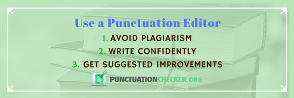punctuation editor online