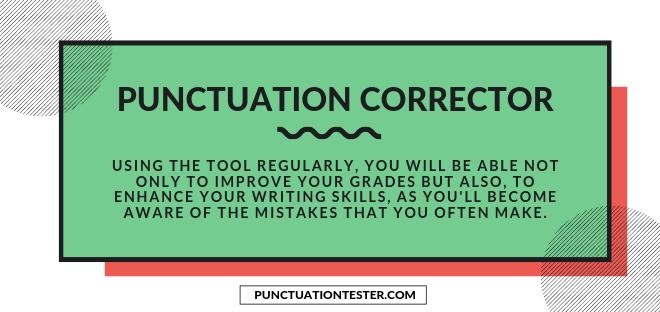 sentence punctuation corrector software